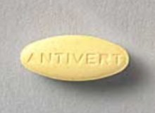 Antivert is a reliable helper for motion sickness